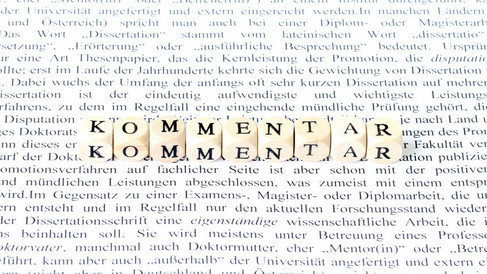 Kommentar Foto von blende11.photo - Fotolia